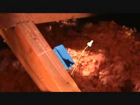 How To Install 2 Electrical Junction Boxes In An Attic