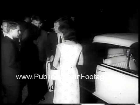 Joseph P. Kennedy JFK's father suffers stroke 1961 Newsreel PublicDomainFootage.com
