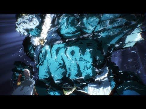Saitama & Genos vs Deep Sea King (60fps)