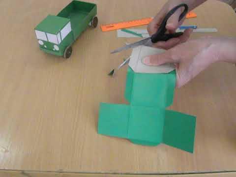 Как сделать кубик из картона своими руками