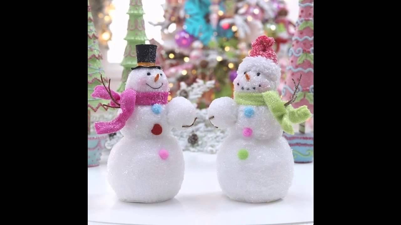 Snowman Decorations Ideas