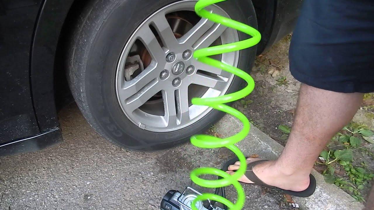 Slime Tire Compressor Portable
