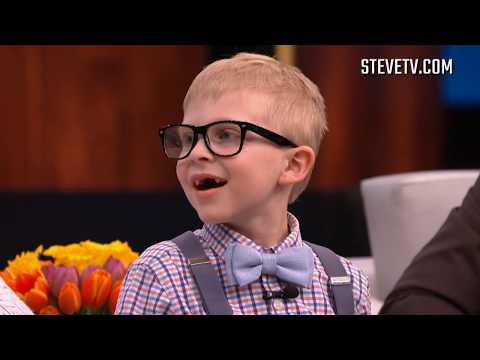 Steve Harvey Meets Viral Kid Who Tried To Lick To The Center Of A Tootsie Pop