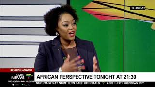 Coming up on African Perspective tonight(19 June 2019) - Tsepiso Makwetla thumbnail