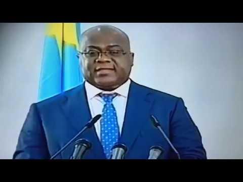FÉLIX TSHISEKEDI AVEC LES CORPS DIPLOMATIQUES ACCRÉDITÉ EN RDC