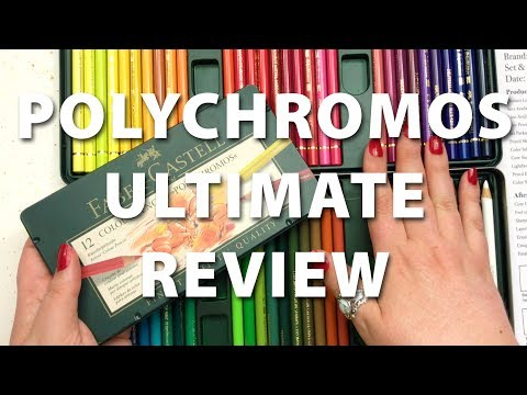 Ultimate Polychromos Colored Pencils Review