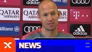 Arjen Robben über Franck Riberys Ausraster und Callum Hudson-Odoi | FC Bayern München | Bundesliga