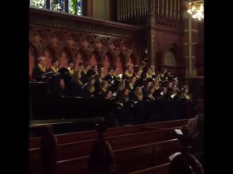 Hamilton College Choir at Old South Church, Boston