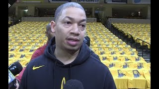 Tyronn Lue Looking Forward On Game 3 vs Pacers | April 20, 2018