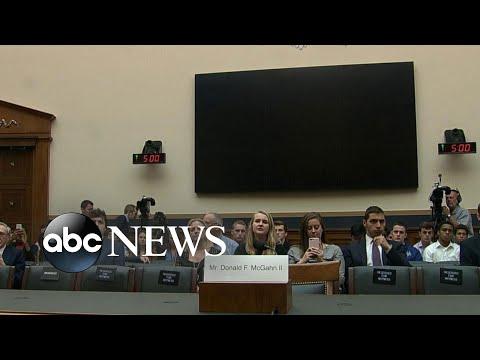 Don McGahn no-show at House Judiciary Committee hearing