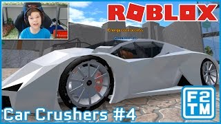 DESTROYING A CAR WORTH 1,500,000,000!!! | Roblox Car Crushers #4