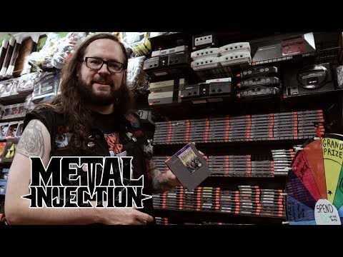 THE BLACK DAHLIA MURDER's Trevor Strnad On His Passion For Retro Video Games | Metal Injection