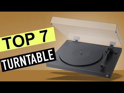 TOP 7: Best Turntables 2020