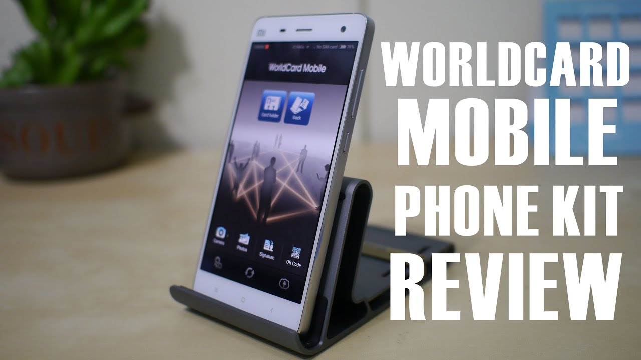 worldcard mobile phone kit review a beautiful phone stand that