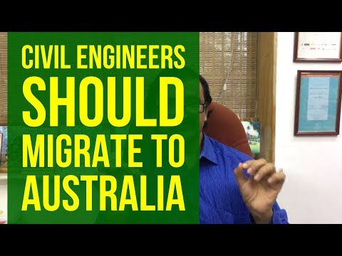 Why Civil Engineers And Construction Managers Should Migrate To Australia?