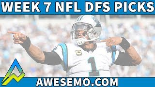 Top DFS Player Gives NFL Week 7 DraftKings and FanDuel Picks And Fades