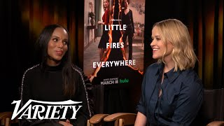 Reese Witherspoon & Kerry Washington Preview Hulu's 'Little Fires Everywhere'