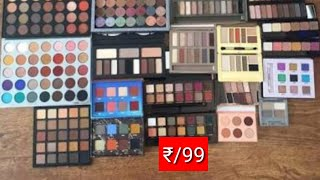 pickup any eyeshadow for ₹_99 only|makeup sale|affordable makeup india|afsha aarzu