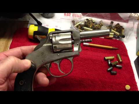 1886 32 Caliber H&R The American Double Action Revolver Overview