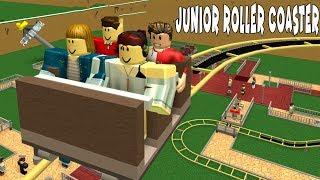 Junior Coaster Yapıyoruz | Roblox Theme Park 2
