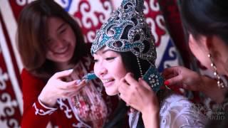 Свадьба кыз узату Сымбат. Проводы невесты в юрте