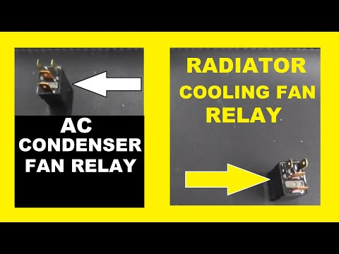 How To Test And Replace: A/C Condenser Fan Relay and Radiator Fan Relay