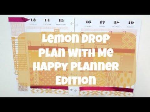 Happy Plannner PWM: Lemon Drop  (Sped Up)