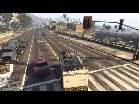 "GTA 5 Secret Truck? ""Department of Water and Power"" Truck!"