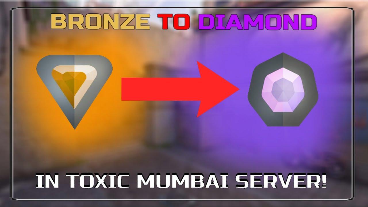 How I Went From BRONZE to DIAMOND Solo in Valorant ( Mumbai Server)