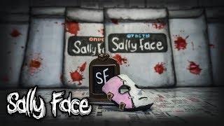 Бумажные сюрпризы По мотивам Салли фэйс , лицевой протез из бумаги! новинки сюрпризов из бумаги
