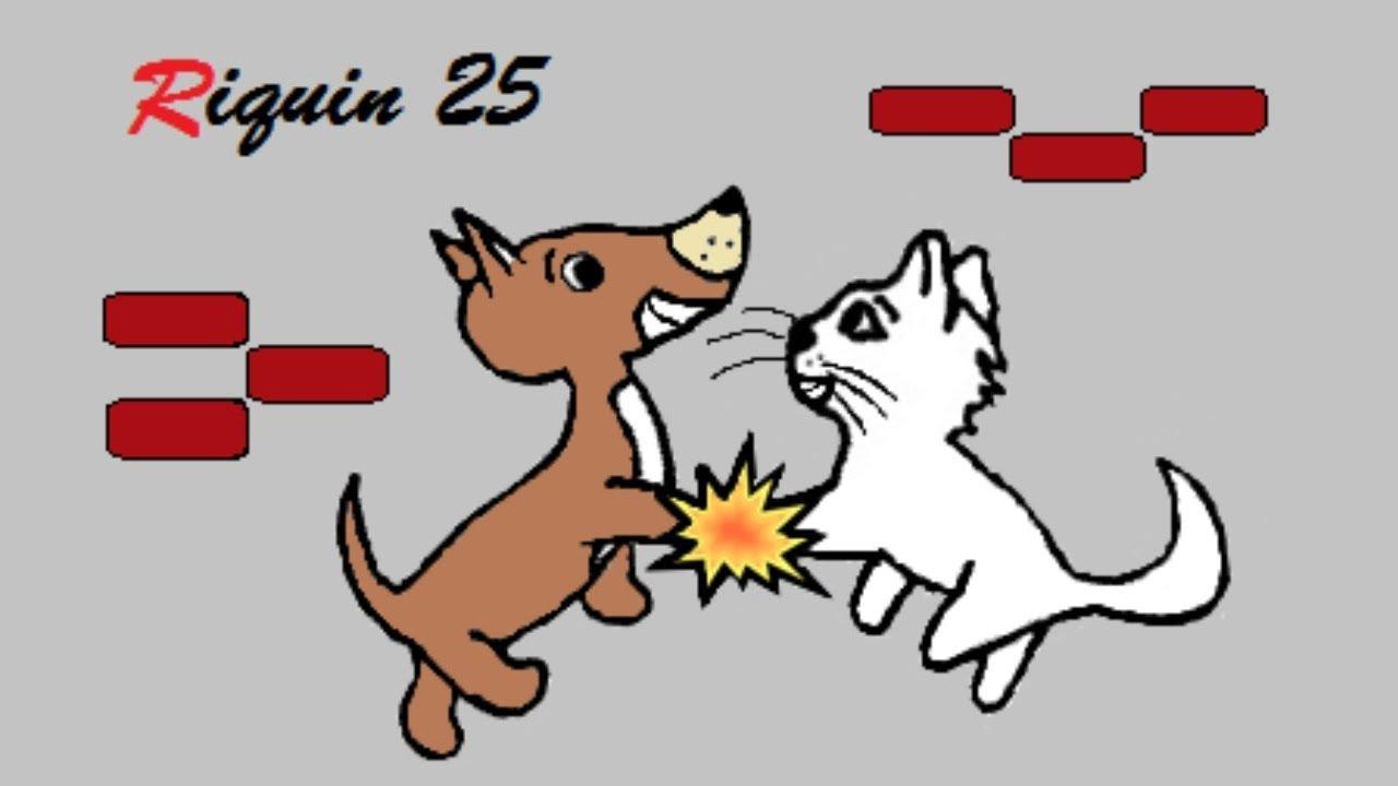 Cachorro E Gato Em Desenho Animado Video Completo Paint E
