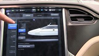 James Bond Lotus easter egg on Tesla Model S