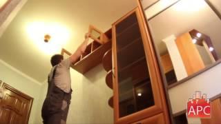 Прихожая, шкафы купе и книжный шкаф под заказ(, 2015-06-19T13:52:52.000Z)