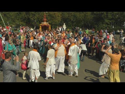 Ратха Ятра в Верхней Салде. 8 августа 2015г.