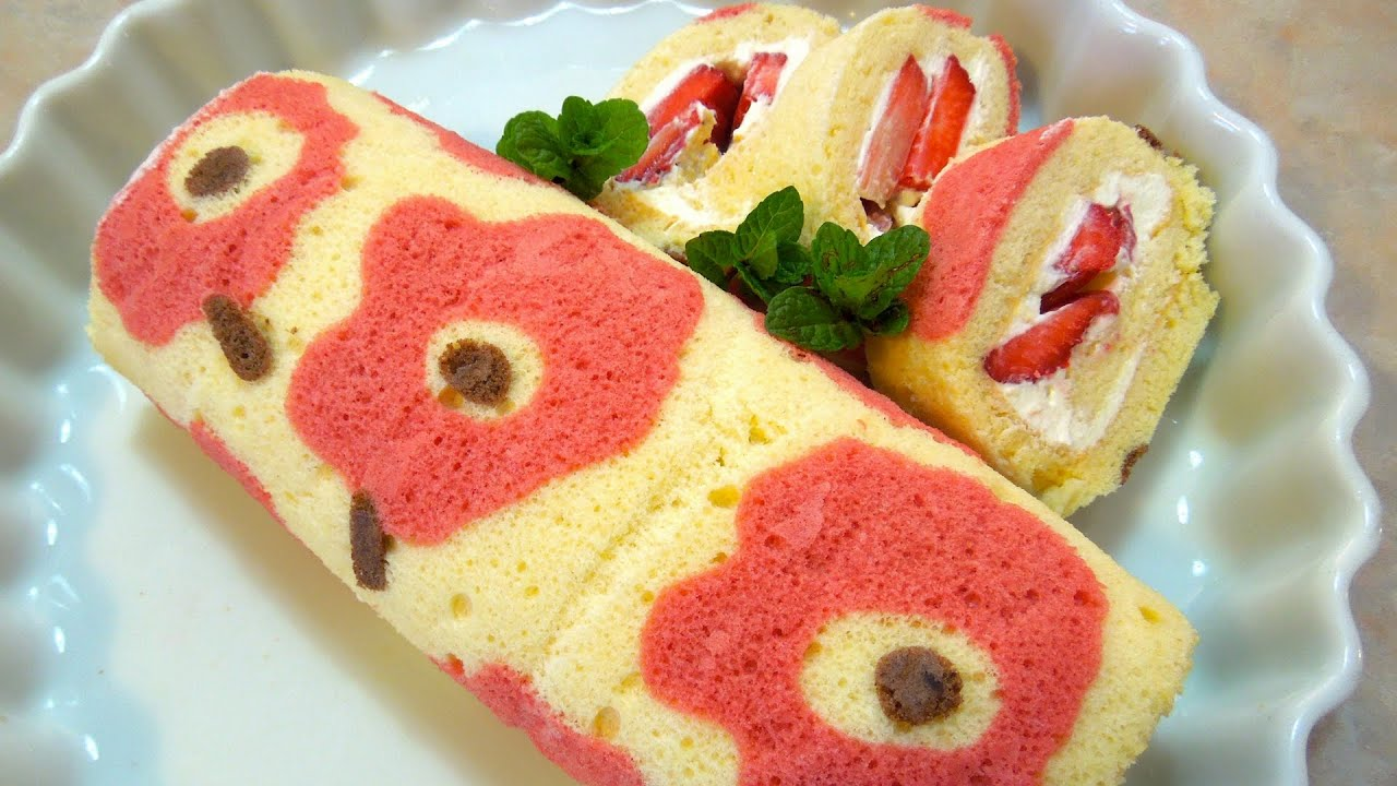 How To Make Roll Cake Youtube