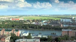 Rostov on Don Russia Ростов на Дону  Россия Time Lapse