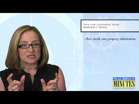 How To Lower Your Property Tax Assessment