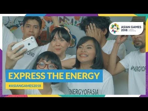 Asian Games 2018 - Express The Energy