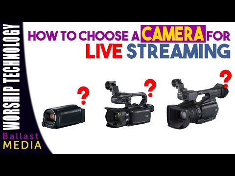 What Camera You Should Use for Live Streaming