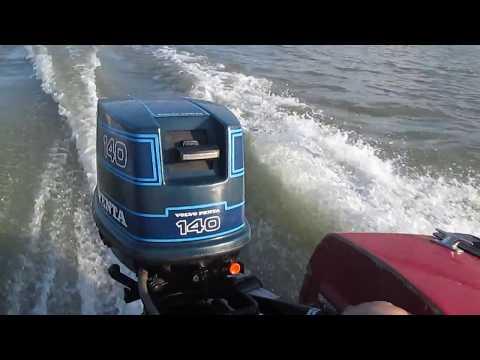 Volvo Penta 140 (14лс) - на воде