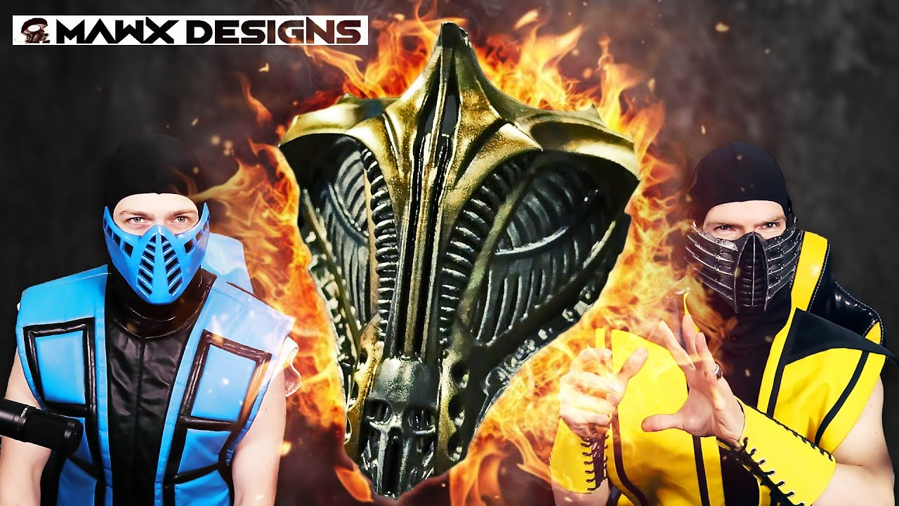 The Most Metal Scorpion Mask Ever Made Mask By Mawxdesigns