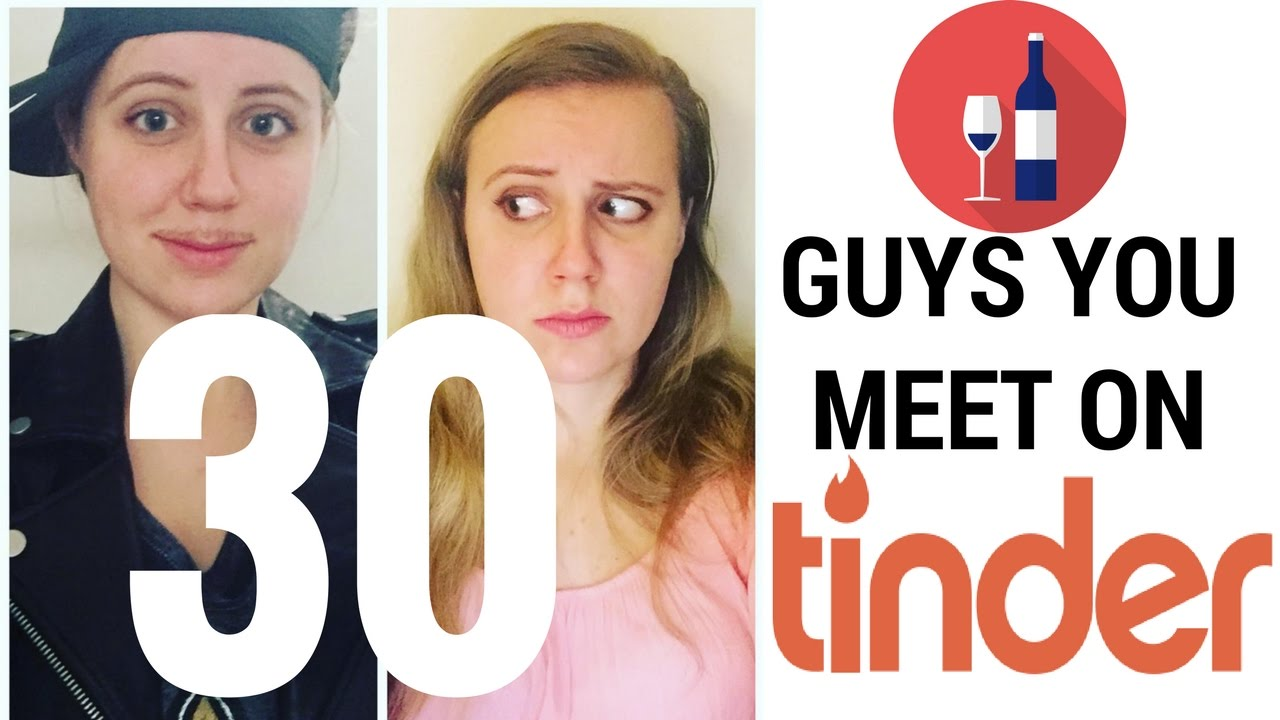 7 guys you meet on tinder at