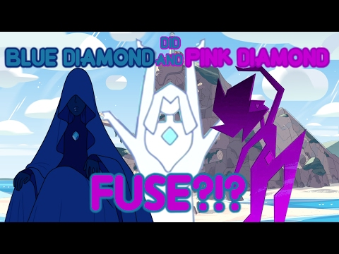 Steven Universe Theory - Pink Diamond and Blue Diamond Fused