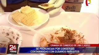 CCL y ASPEC se pronuncian por conservas contaminadas