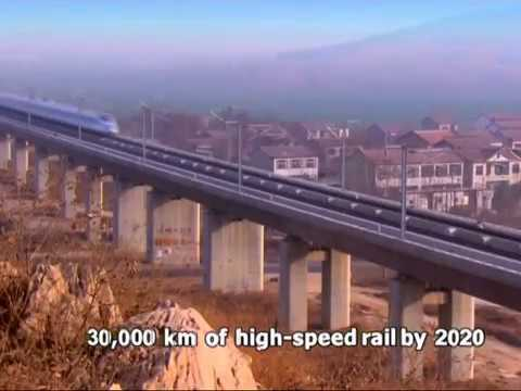 30,000 km and $504 billion! China sets another target for its high-speed rail network