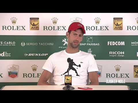 "Novak Djokovic ""I will play tournament next week"" - MC 2018 (HD)"