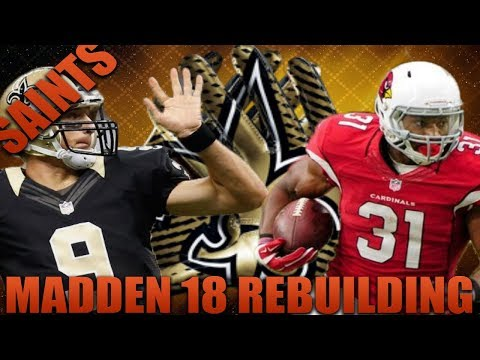 Rebuilding the New Orleans Saints | Madden 18 Franchise Rebuild Drafting Brees Replacement!?