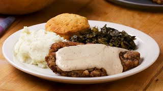 How To Make Country Fried Steak and Gravy • Tasty