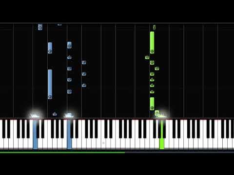Dhadak - Title Track - Piano Tutorial (Instrumental)