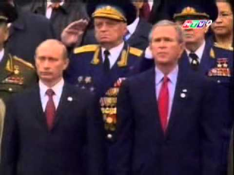 2005 Moscow Victory Day Parade - Russian National Anthem